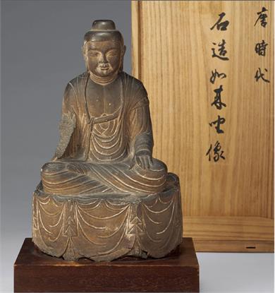 唐朝石刻佛像