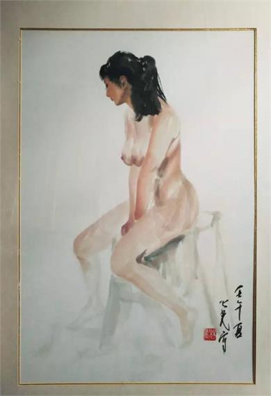杨之光《裸女》