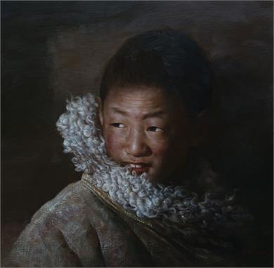 藏族儿童组画
