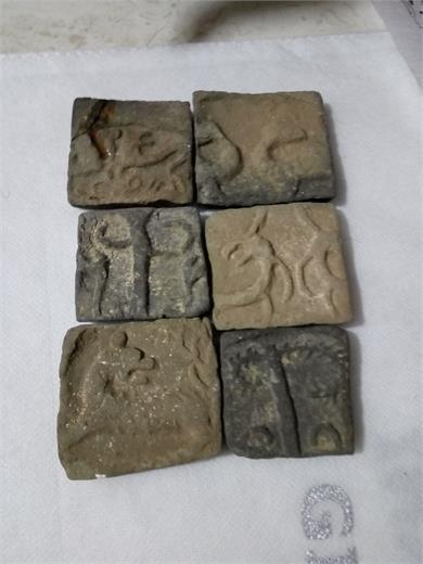 印纹灰陶块