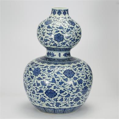 青花福禄瓶