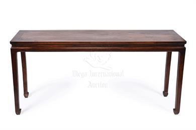 明代黄花梨画桌