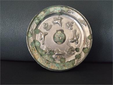 花鸟纹铜镜